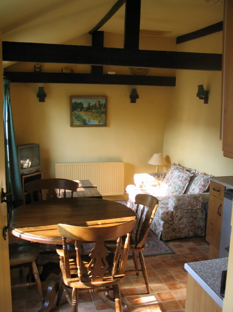 Holiday Cottage Tiverton - Dining and Sitting Room